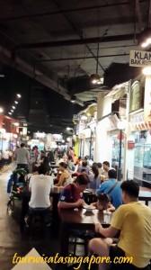 foto gerai makan food court dekat universal studio singapore