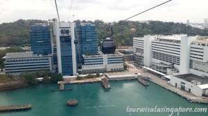pemandangan atas cable car singapore 9