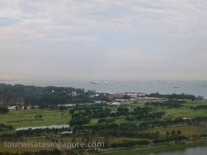 pemandangan singapore flyer 2