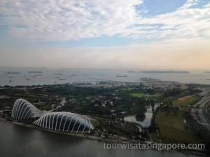 pemandangan singapore flyer 4a