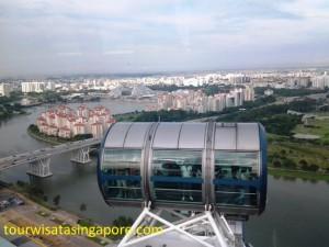 pemandangan singapore flyer 6a