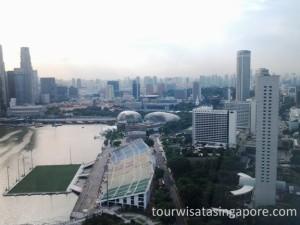 pemandangan singapore flyer 8a
