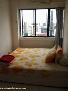 lucky plaza lantai 29 kamar 2 orang