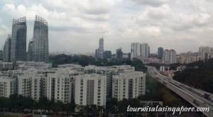 pemandangan atas cable car singapore 2